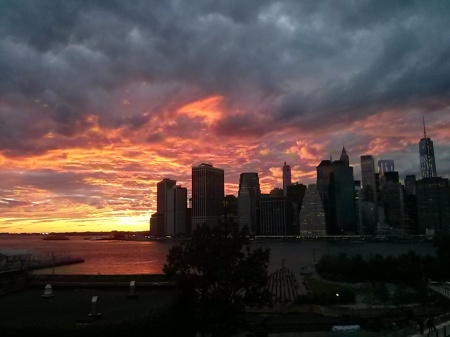 Sunset from the Brooklyn Heights Promenade